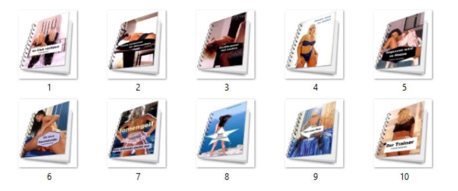 10 PLR erotische eBooks