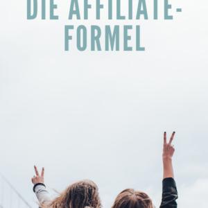Die Affiliate-Formel - PLR eBook.