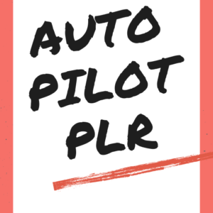 PLR eBook - Autopilot PLR.